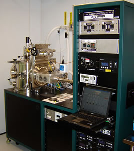 AJA Orion8 sputtering System with Load Lock Chamber